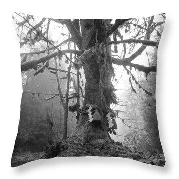 Sacred Tree No. 2 Throw Pillow