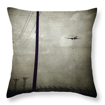Sad Goodbyes Throw Pillow