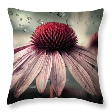 Sad Solitude Throw Pillow by Aimelle