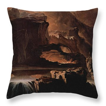 Sadak And The Waters Of Oblivion  Throw Pillow