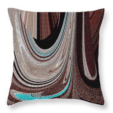 Saddle Blanket Throw Pillow