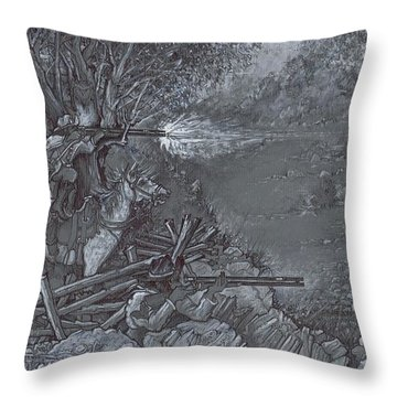Saddle Sniper Throw Pillow