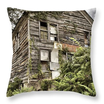 Saddle Store 2 Of 3 Throw Pillow by Jason Politte