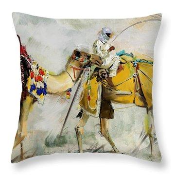 Safari Ride Throw Pillow