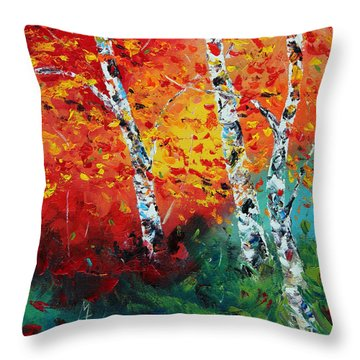 Safe Haven Throw Pillow by Meaghan Troup