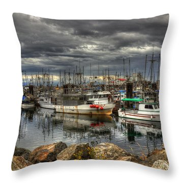 Safe Haven Throw Pillow by Randy Hall