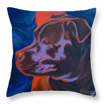 Safe Here Throw Pillow