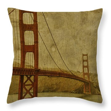 Golden Gate Throw Pillows