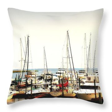 Safe Resting Place Throw Pillow by Reid Callaway