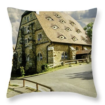 Safehouse Throw Pillow