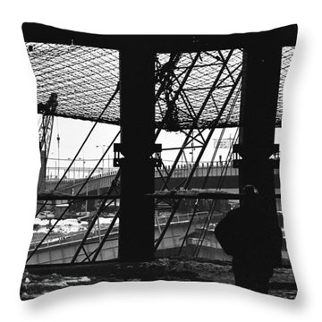 Safety Net Wtc   Throw Pillow