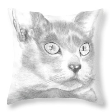Saffy Throw Pillow