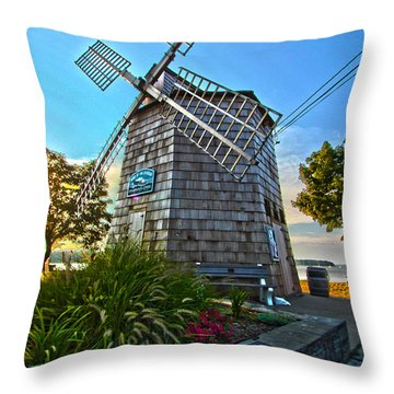 Sag Harbor Windmill Throw Pillow