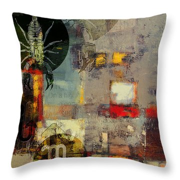 Sagittarius Star Throw Pillow by Corporate Art Task Force
