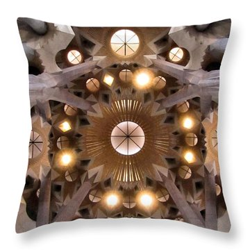 Sagrada Familia Throw Pillow