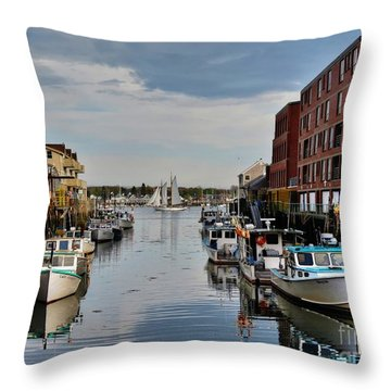 Sail Throw Pillow