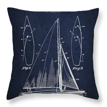 Patent Drawing Throw Pillows