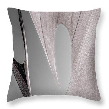 Sailcloth Abstract Number 2 Throw Pillow