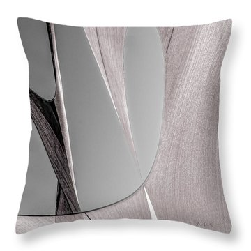 Sailcloth Abstract Number 2 Throw Pillow