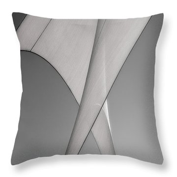 Sailcloth Abstract Number 3 Throw Pillow