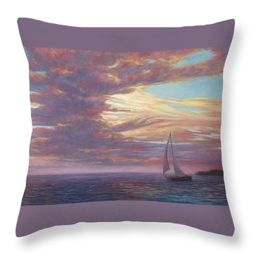 Sailing Away Throw Pillow