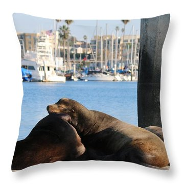 Sailing Dreams  Throw Pillow by Christy Pooschke