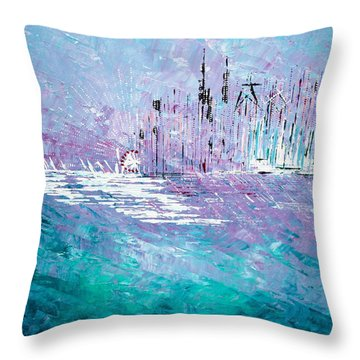 Sailing South - Sold Throw Pillow