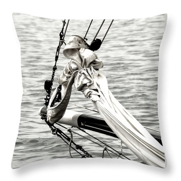 Sailing The Seven Seas Throw Pillow