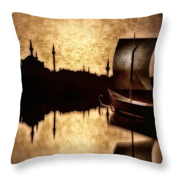 Sailing To Byzantium Throw Pillow