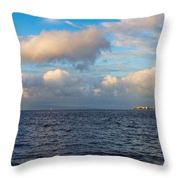 Sailing To Lahaina Throw Pillow