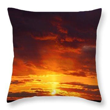 Sailor's Delight Throw Pillow by Joe Geraci