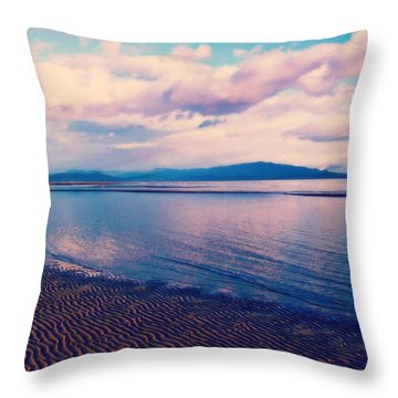 Throw Pillow featuring the photograph Sailor's Delight by Marilyn Wilson