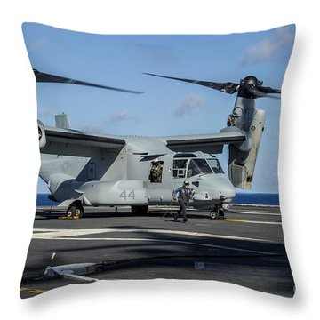 Uss George Washington Throw Pillows