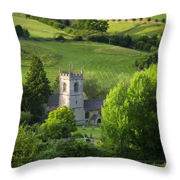 Saint Andrews - Cotswolds Throw Pillow