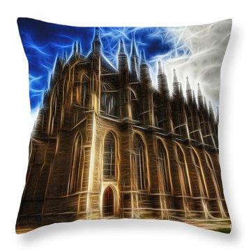 Saint Barbara Church Kutna Hora Throw Pillow by Michal Boubin