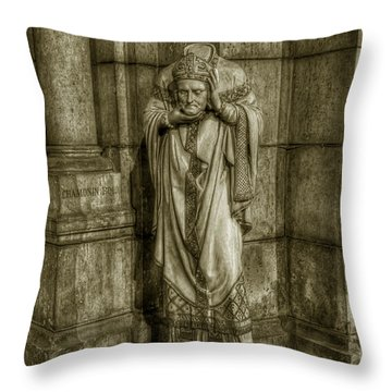 Saint Denis Throw Pillow
