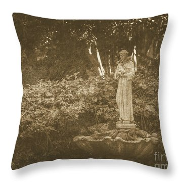 Saint Frances Throw Pillow