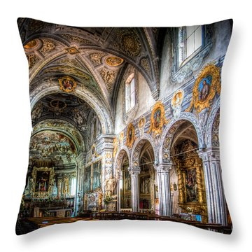 Saint George Basilica Throw Pillow