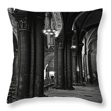 Saint Germain Des Pres - Paris Throw Pillow by RicardMN Photography