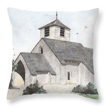Saint-jean-baptiste A Chassignelles Throw Pillow