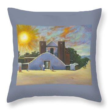 Saint Jerome Church Throw Pillow