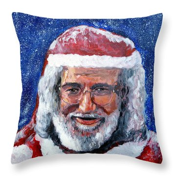 Saint Jerome Throw Pillow by Tom Roderick