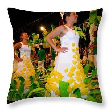 Saint John Festival Throw Pillow by Gaspar Avila