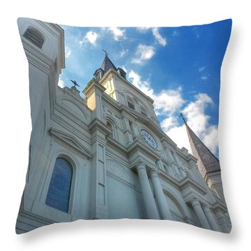 Saint Louis Cathedral  Throw Pillow