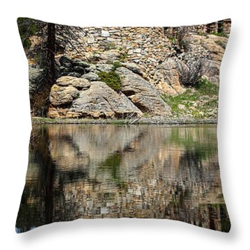 Saint Malo Chapel Throw Pillow