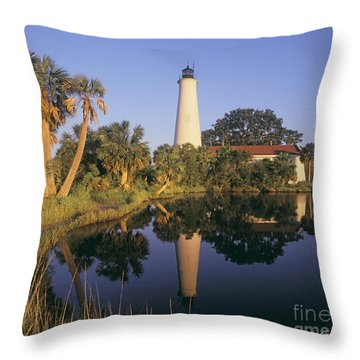 Saint Mark's Lighthouse Throw Pillow