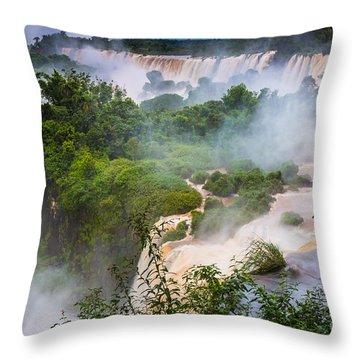 Saint Martin Island Throw Pillow by Inge Johnsson