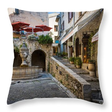 Saint Paul Square Throw Pillow by Inge Johnsson