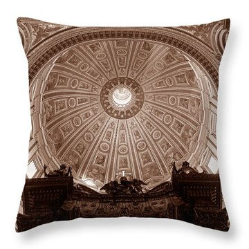 Saint Peter Dome Throw Pillow