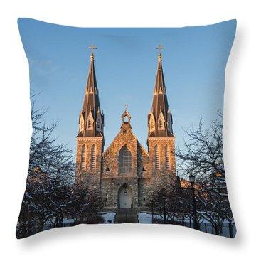 Saint Thomas Of Villanova Throw Pillow